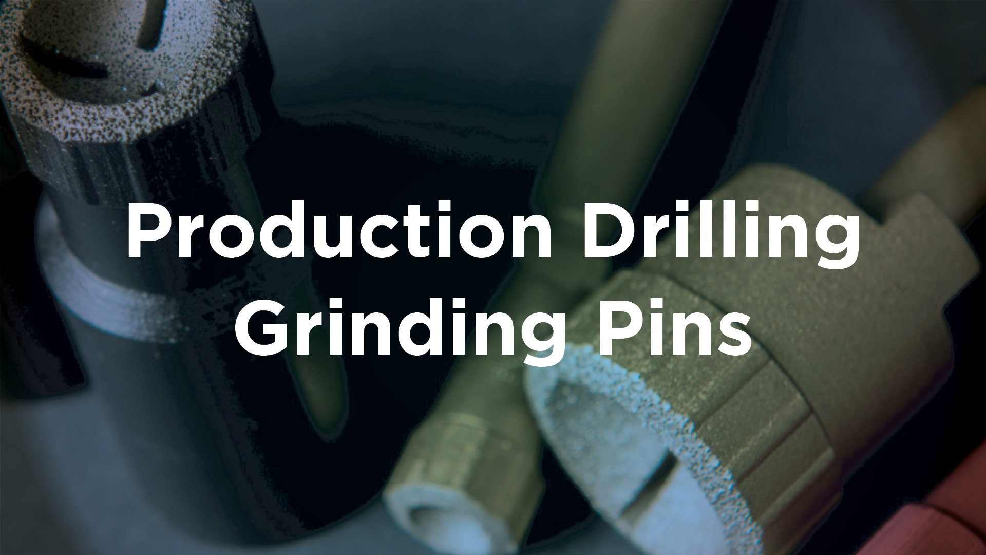 Production Drilling Grinding Pins